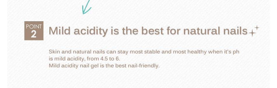 ジェルネイル比較で重要なのは弱酸性がいちばんやさしい